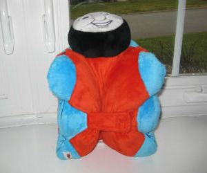 Thomas pillow pet bottom view