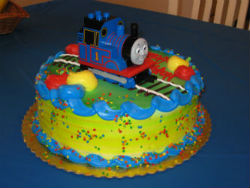 Thomas the train birthday cake from ShopRite