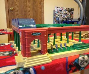 Thomas the train Knapford Station