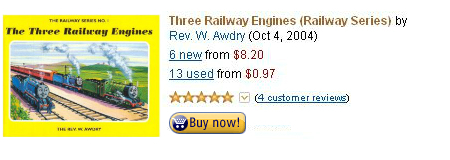 The Three Railway Engines in hardcover
