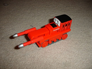 Thomas Wooden Railway – Thumper Vehicle