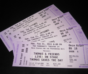 Tickets for Thomas Live On Stage