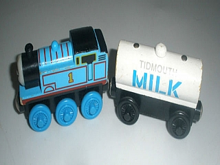 Thomas Wooden Railway – Tidmouth Milk Tanker
