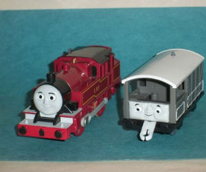 TOMY Arthur battery powered trains