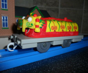 TOMY Chinese Dragon trains