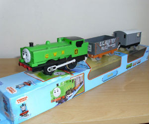 TOMY Duck train engine