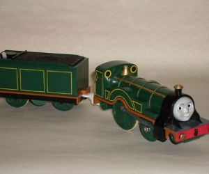TOMY Emily battery powered trains
