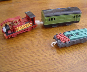 TOMY Harvey battery powered trains