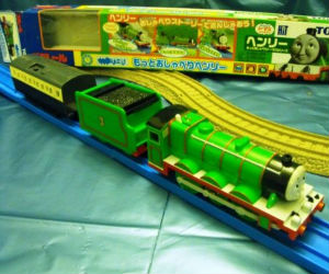 TOMY Henry battery powered trains