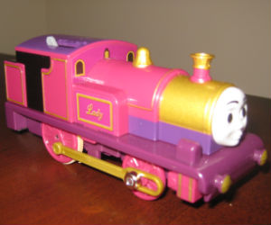 tomy lady train engine