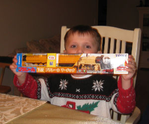 Adam with his new Murdoch engine