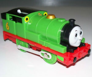 TOMY Percy battery powered trains