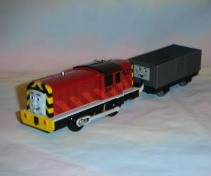 TOMY Salty battery powered trains
