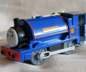 TOMY Sir Handel battery powered trains