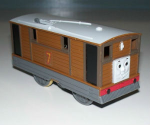 TOMY Toby battery powered trains