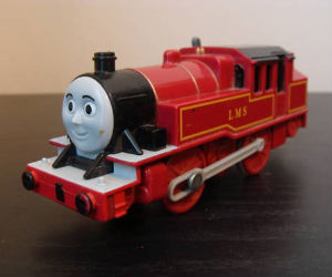 Trackmaster Arthur battery operated train