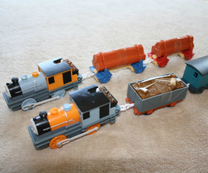 Trackmaster Bash and Dash battery operated train
