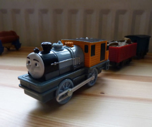Trackmaster Bash battery operated train