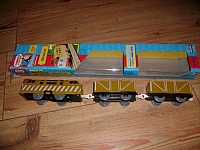 Trackmaster Diesel 10 with freight cars