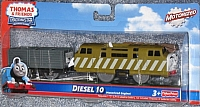Trackmaster Diesel 10 with freight car