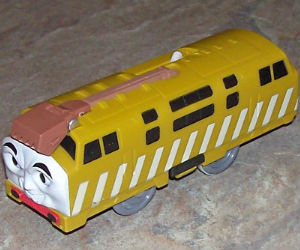 Trackmaster Diesel 10 battery operated engine