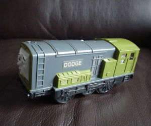 Trackmaster Dodge battery operated train