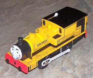 Trackmaster Duncan battery operated engine