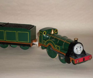 Trackmaster Emily battery operated train