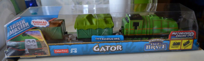 On Sale Trackmaster Gator from Tale of the Brave DVD