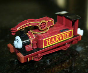 Trackmaster Havery battery operated engine