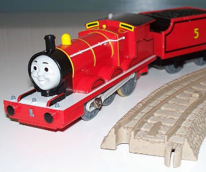 Trackmaster James battery operated train
