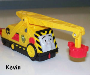 Trackmaster Kevin