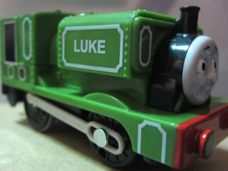 Trackmaster Luke battery operated train