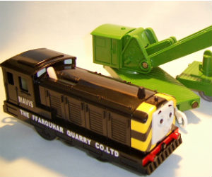 Trackmaster Mavis battery operated train