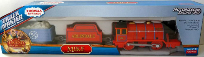 Trackmaster Mike Legend of Lost Treasure