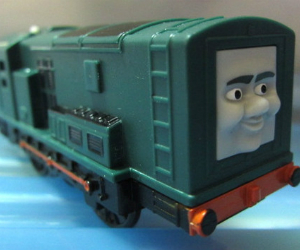 Trackmaster Paxton battery operated train