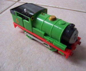 Trackmaster Percy battery operated train