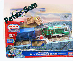 Trackmaster Peter Sam battery operated train