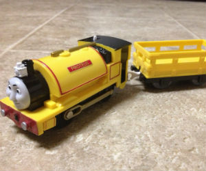 Trackmaster Proteus battery operated train
