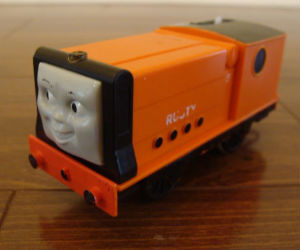 Trackmaster Rusty battery operated train
