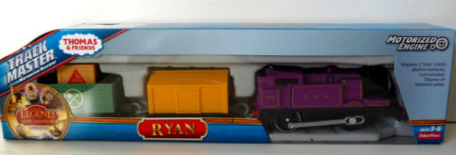 Buy Trackmaster Ryan - Sodor's Legend of the Lost Treasure