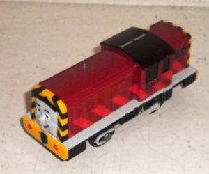 Trackmaster Salty battery operated train
