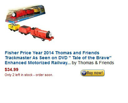 Order Trackmaster Scared James Today
