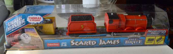 On Sale Trackmaster Scared James  from Tale of the Brave DVD