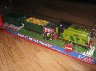 Trackmaster Scruff battery operated train