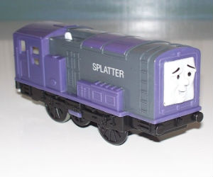 Trackmaster Splatter battery operated train