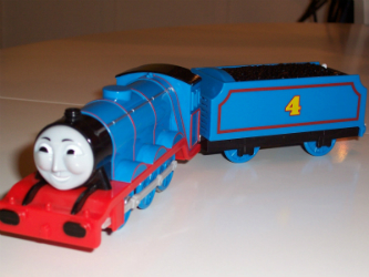 Talking Gordon battery train for Trackmaster