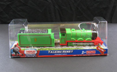 Talking Henry battery train for Trackmaster