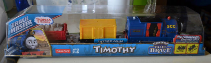 On Sale Trackmaster Timothy from Tale of the Brave DVD