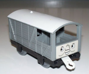 Trackmaster Toad freight car